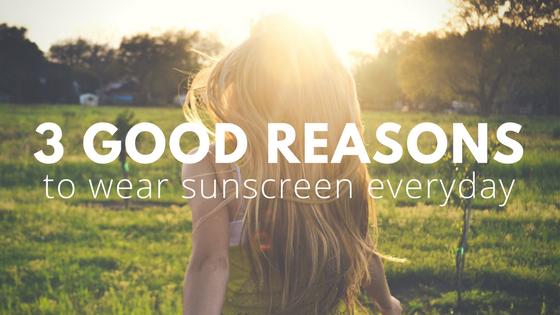 why wear sunscreen